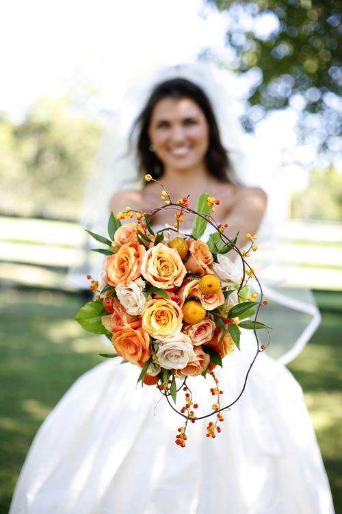 Tennessee farm wedding bridal bouquet